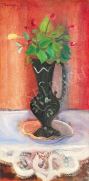 For sale  Márffy, Ödön - Studio Still Life with Spring Flowers, c.1930 's painting