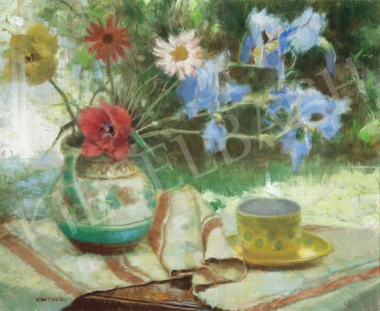 Eladó  Kontuly Béla - Virágcsendélet festménye
