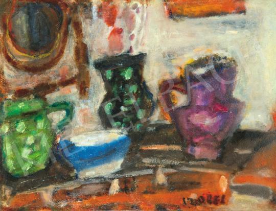Eladó  Czóbel Béla - Műtermi csendélet, 1930-as évek festménye