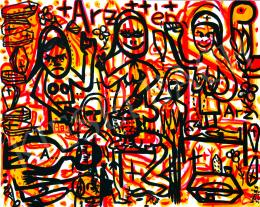 drMáriás - In the A.R. Penck Studio of the Arsenic Women of Tiszazug, 2015