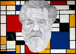 drMáriás - A Homeless in Piet Mondrian's  Atelier, 2014