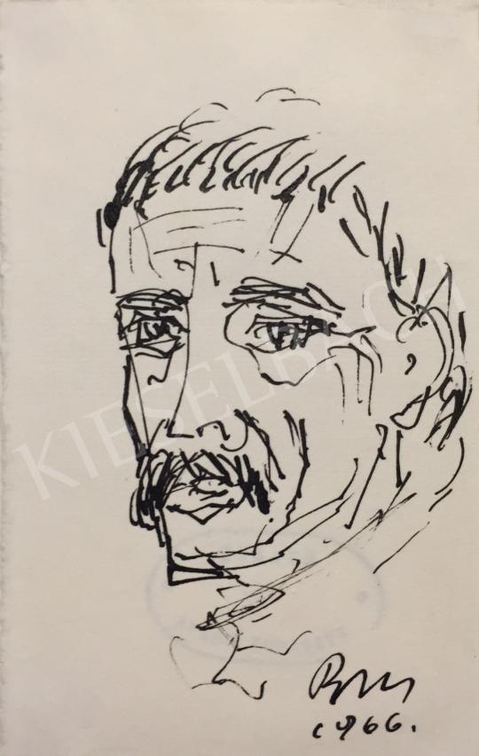 For sale  Borsos, Miklós - Self-Portrait, 1966 's painting