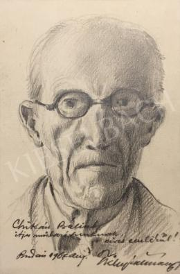 Tichy, Kálmán - Self-Portrait, 1967