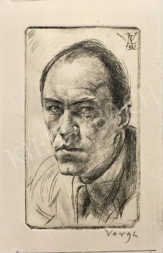 Eladó  Varga Nándor Lajos - Önarckép, 1932 festménye