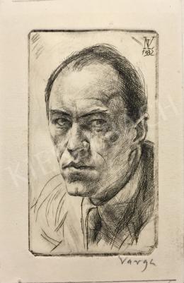 Varga, Nándor Lajos - Self-Portrait, 1932