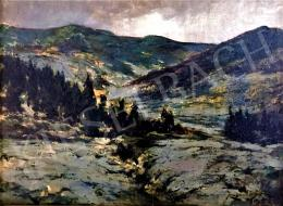 Kopeczky, Raoul - Landscape with the High-Tatras