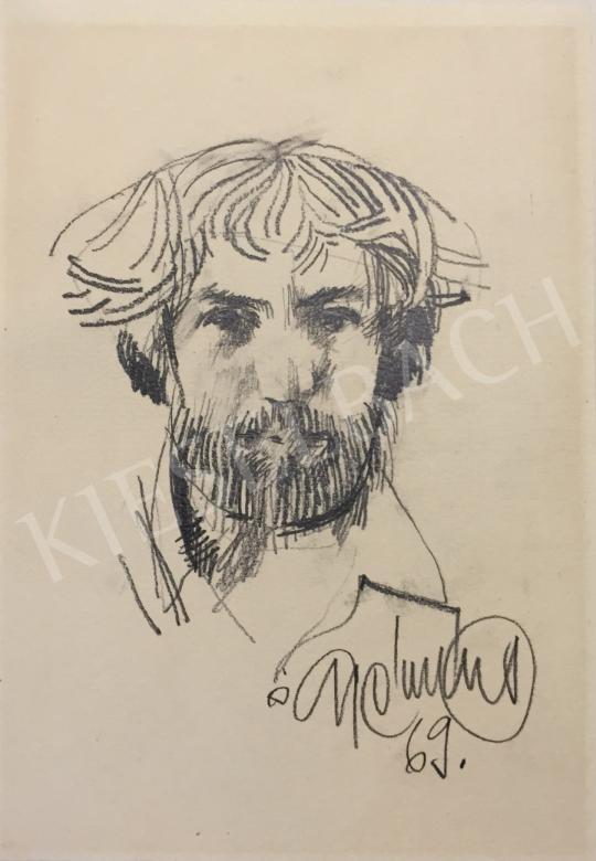 For sale  Gyémánt, László - Self-Portrait, 1969 's painting