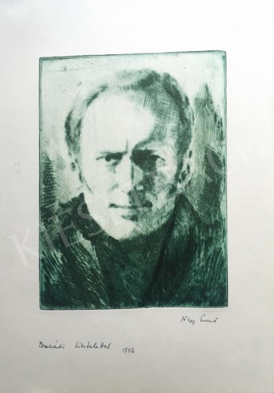 Eladó  Nagy Ernő - Önarckép, 1973 festménye