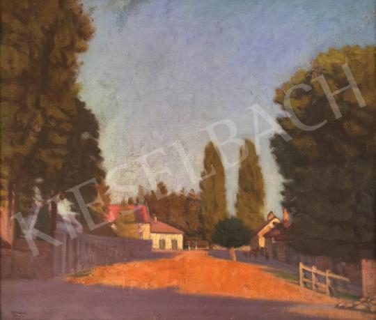 Eladó Mikola András - Nagybányai utcarészlet, 1923 festménye