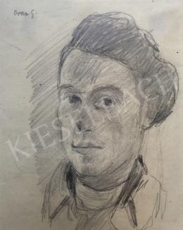 Orosz, Gellért - Self-Portrait