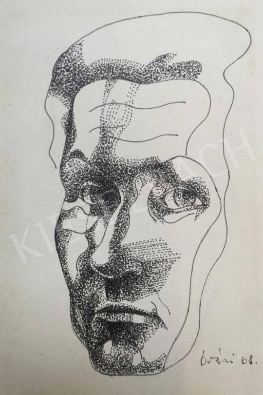 For sale  Óvári, László - Self-Portrait, 1968 's painting