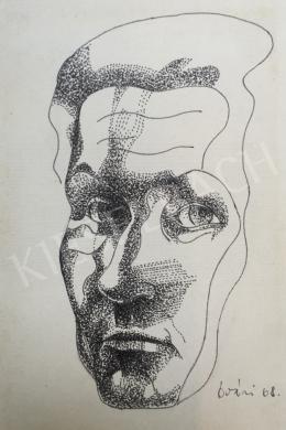 Óvári László - Önarckép, 1968