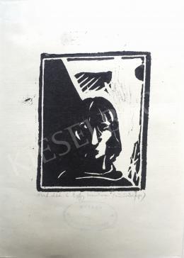 Buhály József - Önarckép, 1978