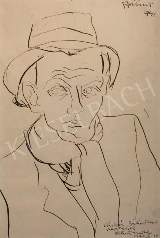 For sale  Bálint, Endre - Self-Portrait, 1941 's painting