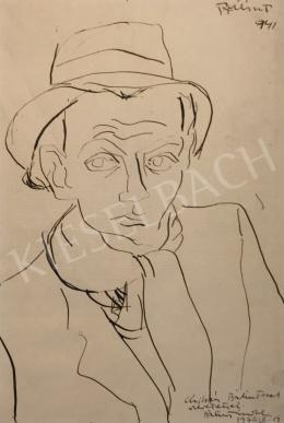 Bálint Endre - Önarckép, 1941