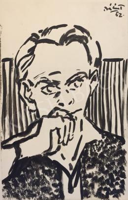 Bálint Endre - Önarckép, 1952