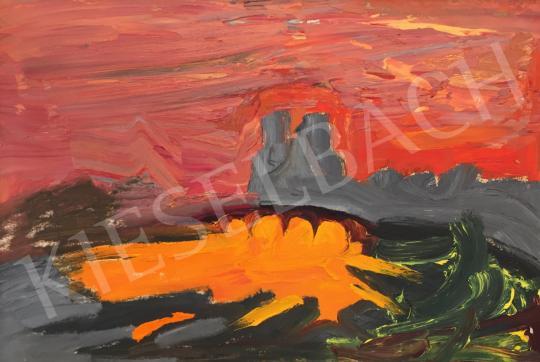 Eladó Kovásznai György - A francia forradalom dala/ Notre Dame katedrálisok, 1973 festménye