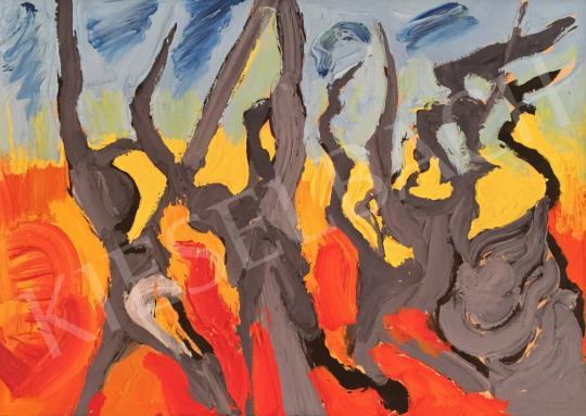 Eladó Kovásznai György - A francia forradalom dala/ Forradalmárok 1973 festménye