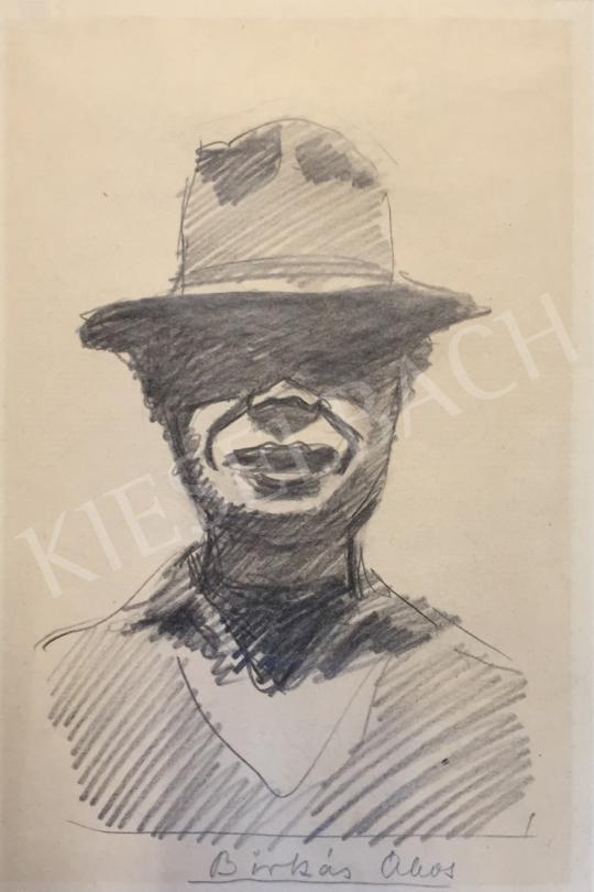 For sale  Birkás, Ákos - Self-Portrait 's painting
