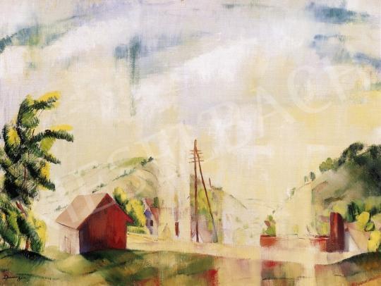 Ducsay Béla - Zebegényi állomás | 6. Aukció aukció / 82 tétel