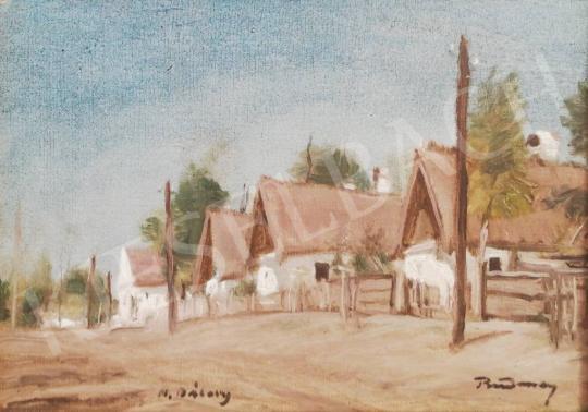Eladó  Rudnay Gyula - Falusi utcarészlet festménye