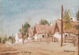 Rudnay, Gyula - Village Street Scene