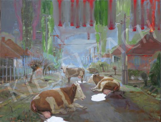 Eladó  Bukta Imre - 2020 tavasza (Vidéki romantika), 2020 festménye