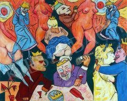 drMáriás - Quarantine Party during Coronavirus in George Grosz's Studio, 2020