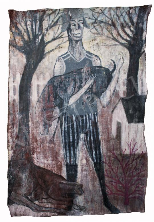 Eladó  Király Gábor - Vidéki táj, 2020 festménye
