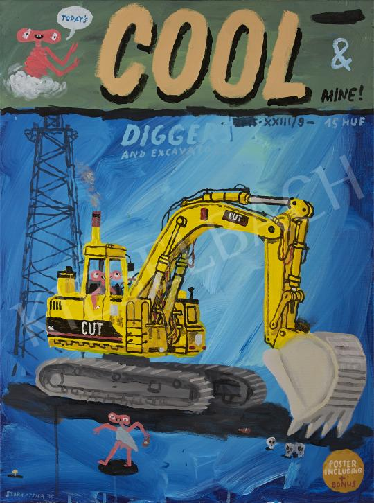 Eladó  Stark Attila - Cool & Mine, 2015 festménye