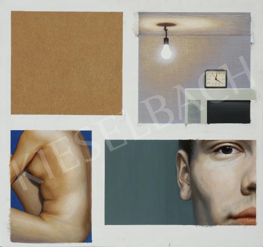 Czene Márta - Vissza, 2009 festménye