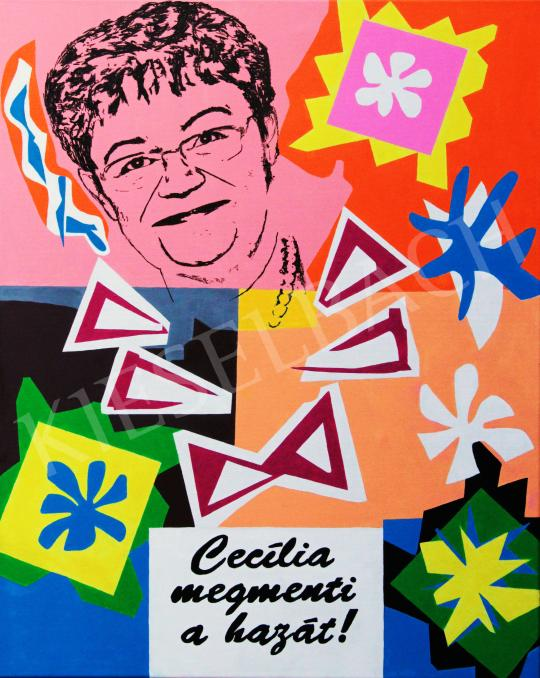 drMáriás - Müller Cecília nyugalomhipnózisával megállítja a járványt és megmenti a hazát Matisse virágai között festménye