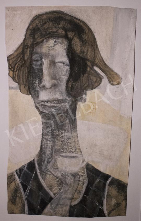 Király Gábor - Ébredés, 2020 festménye