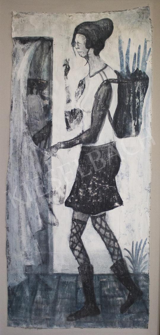 Király Gábor - Hazaérkezés, 2020 festménye