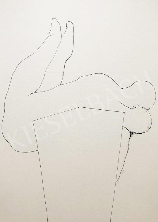 Részegh Botond - Becsomagolt hétköznapok 63., 2020 festménye