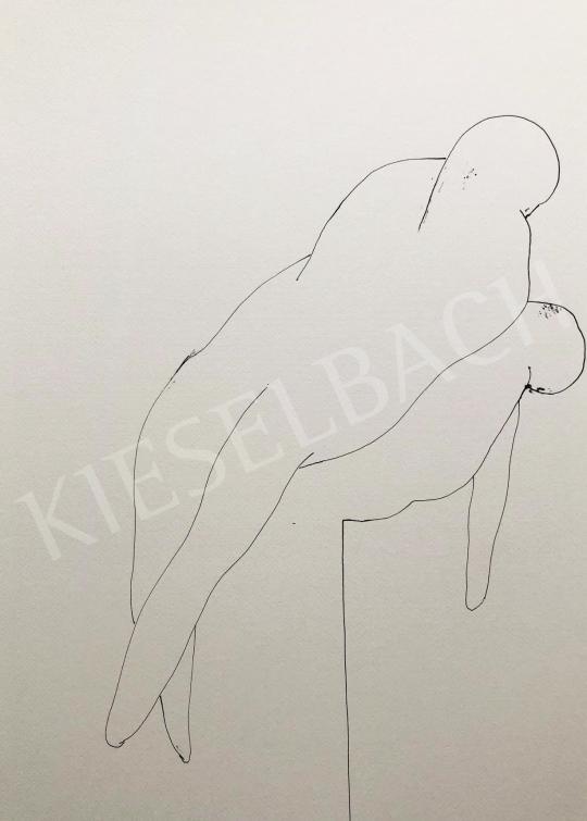 Részegh Botond - Becsomagolt hétköznapok 23., 2020 festménye