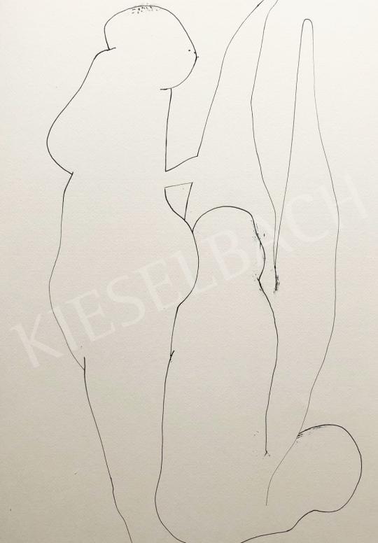Részegh Botond - Becsomagolt hétköznapok 58., 2020 festménye