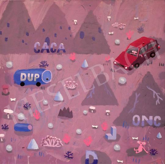 Stark Attila - Dup, 2020 festménye