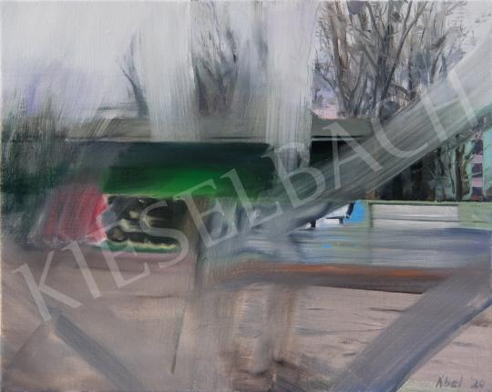Szabó Ábel - 67. Utazás festménye