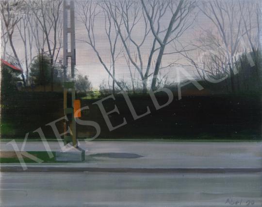 Szabó Ábel - 68. Utazás festménye