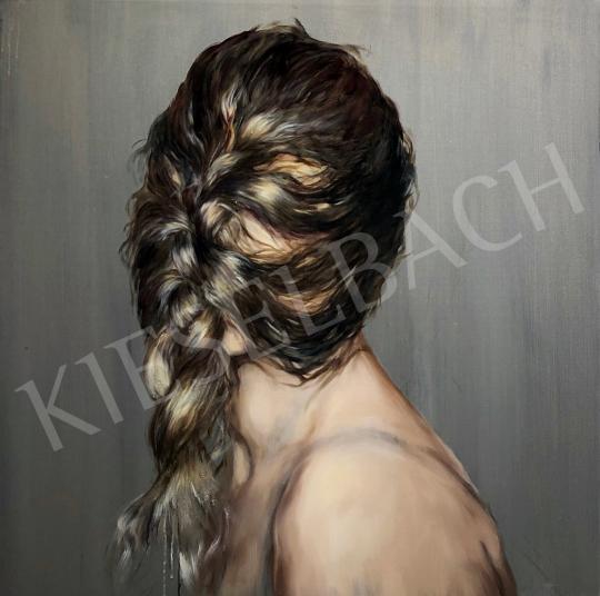Verebics Ágnes - Szőrmaszk, 2020 festménye