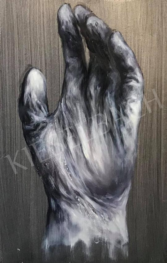 Eladó  Verebics Ágnes - Kesztyűs kézzel, 2020 festménye