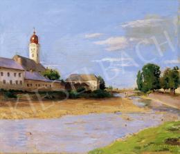 Ferenczy Valér - Nagybányai Zazar-part