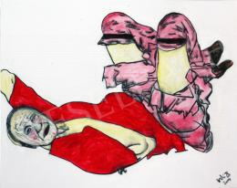 drMáriás - Kádár János Egon Schiele műtermében, 2014