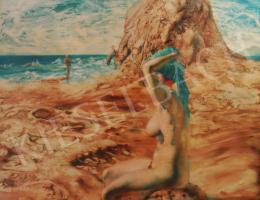 Korga György - Férfi-Nő, Vágyódás, Tengerpart, 1997