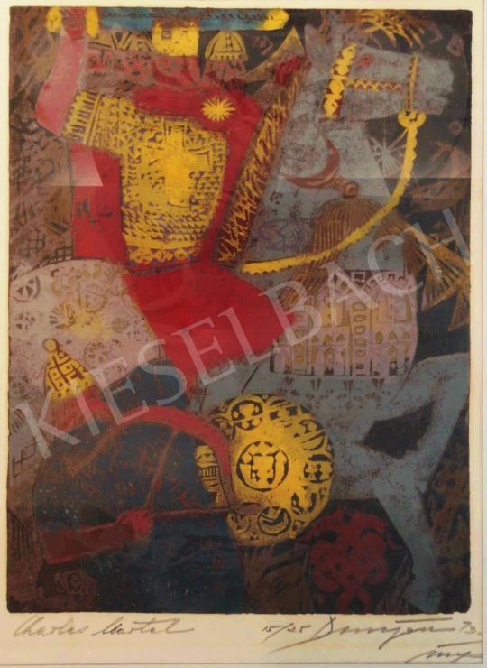 For sale Domján, József - Charles Martel 's painting