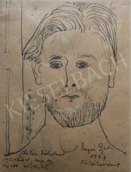Sugár, Gyula - Self-Portrait,1947