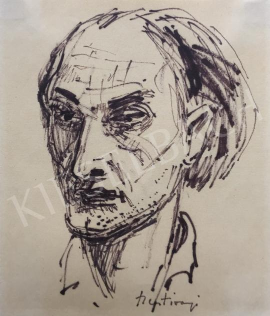 For sale  Szentiványi, Lajos - Self-Portrait 's painting