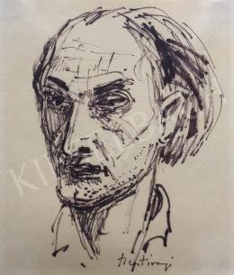 Szentiványi, Lajos - Self-Portrait