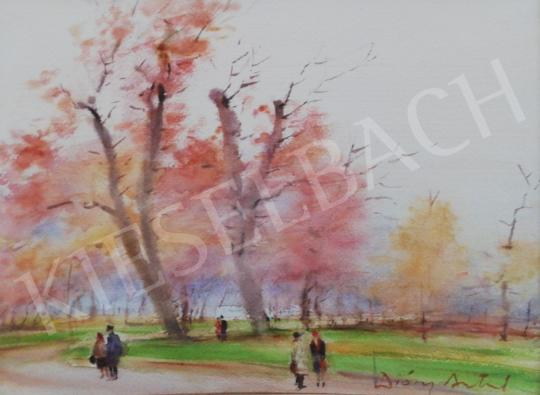 For sale Diósy, Antal (Dióssy Antal) - Autumn Mood (Detail of Margaret Island) 's painting
